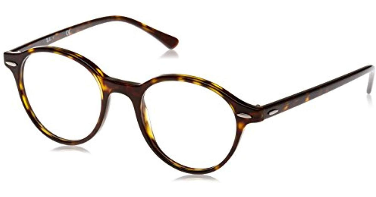 170234c5830 Ray-Ban Rx7118 Glasses In Havana Rx7118 2012 48 in Black - Lyst