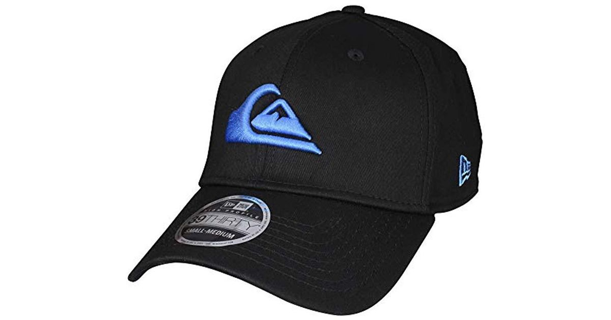 the best attitude b870c 8612c Lyst - Quiksilver Mountain And Wave Black Hat in Black for Men