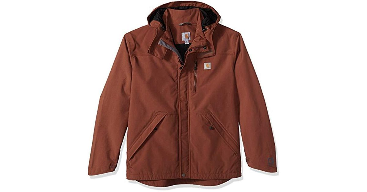 a6c23be66fb37 Carhartt Big And Tall Big & Tall Shoreline Jacket Waterproof Breathable  Nylon for Men - Save 14% - Lyst