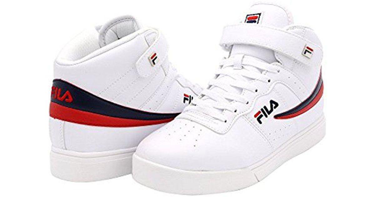 60c3ccbd428c Lyst - Fila Vulc 13 Mid Plus 2 Walking Shoe in White for Men