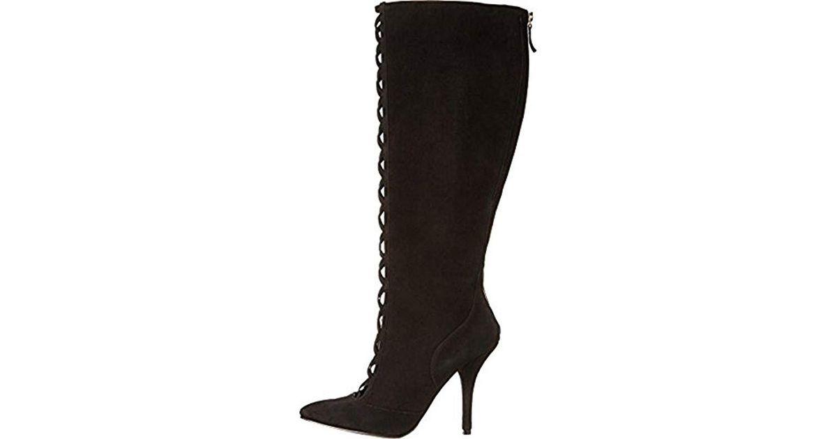 965974da44bd Lyst - Nine West Jacobe Boot in Black