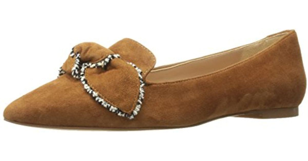 a73713786 Lyst - Sam Edelman Rochester Ballet Flat in Natural - Save  2.3255813953488342%