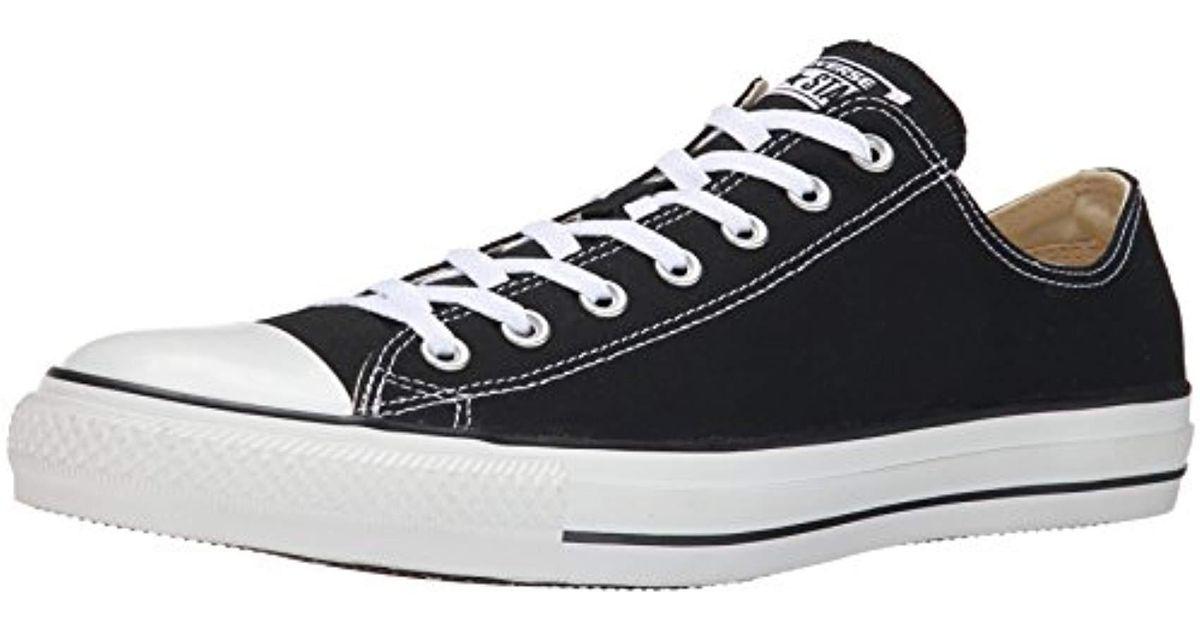 9302d0e7edc Converse Unisex Chuck Taylor All Star Ox Sneaker in Black for Men - Lyst