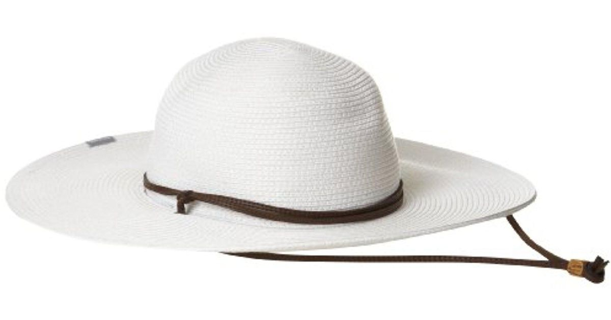 16fc3d6a6e5 Lyst - Columbia Global Adventure Packable Hat in White
