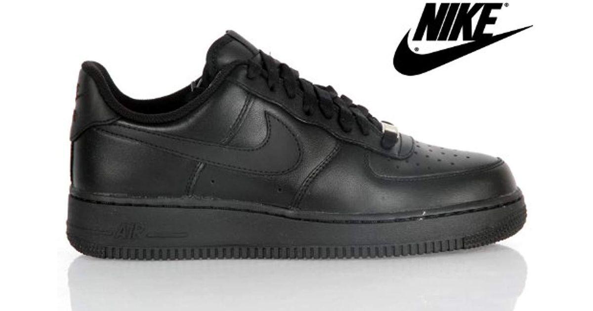 détaillant en ligne 05897 de1ab Nike - Black Air Force 1 '07 Baskets Homme 315122-001-40.5-7.5 Noir for Men  - Lyst