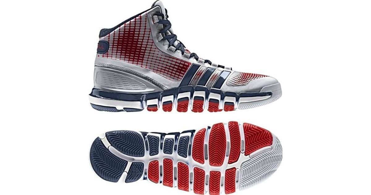 Adidas Blue Adipure Crazyquick Basketball Shoes for men