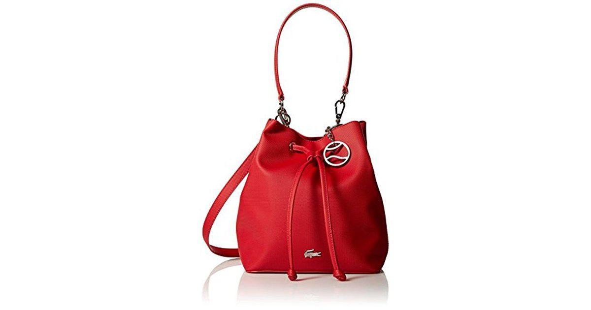 Lyst - Lacoste Bucket Bag 2430e321f4a