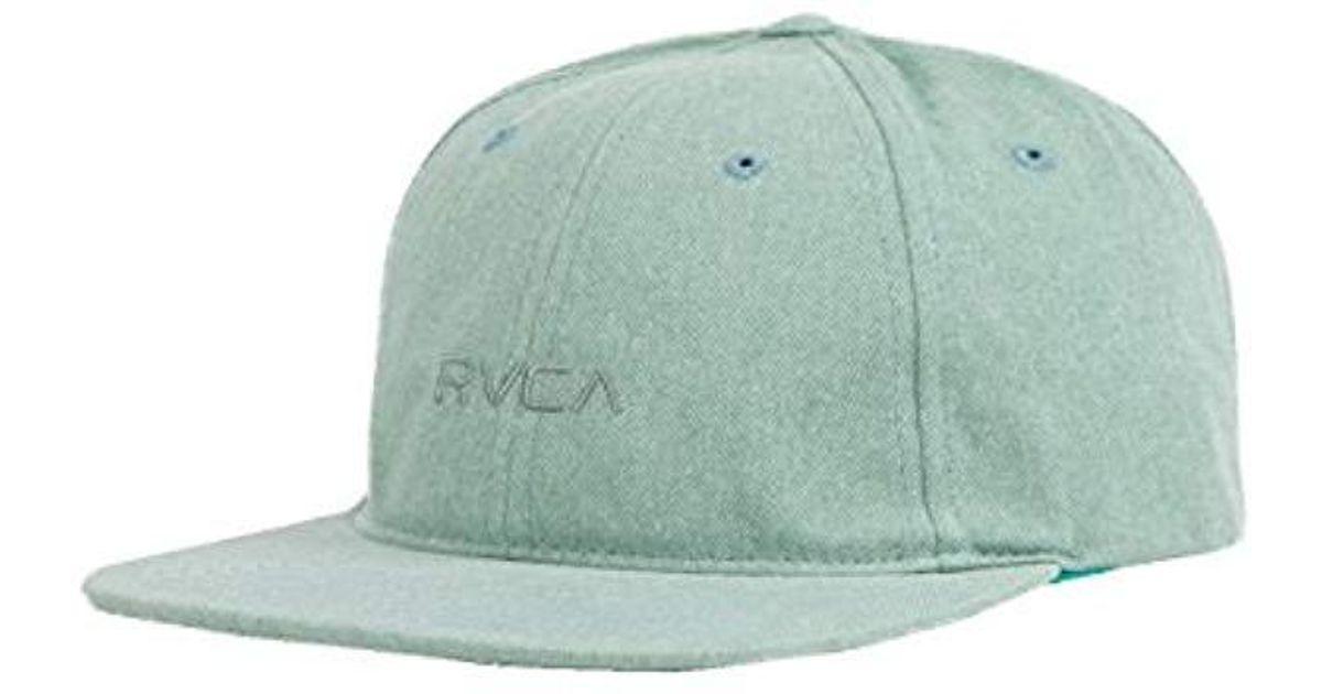 Lyst - RVCA Tonally Low Cap in Green for Men - Save 19% 7e047fa5f55d