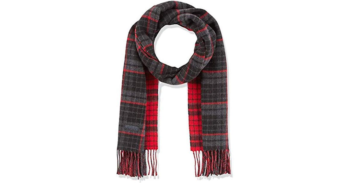 Hugo -z 473 Scarf, Grey (charcoal 015), One (manufacturer Size  Stck) in  Gray for Men - Lyst 8775afe6aa2