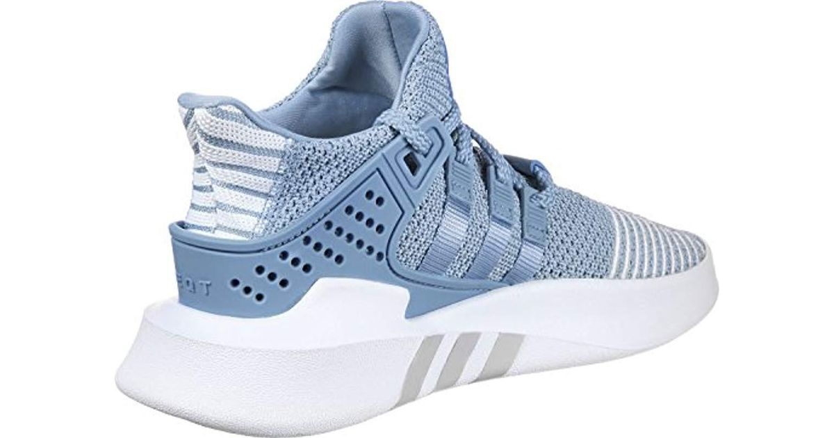 competitive price 0156a ba3f8 Adidas - Blue Eqt Bask Adv Hi-top Trainers - Lyst