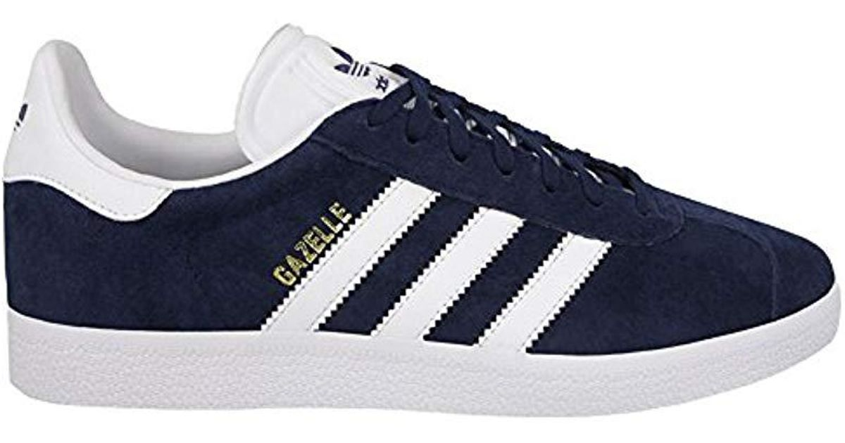 Lyst - Adidas Unisex Adults  Gazelle Trainers in Blue for Men e3f8a32d3