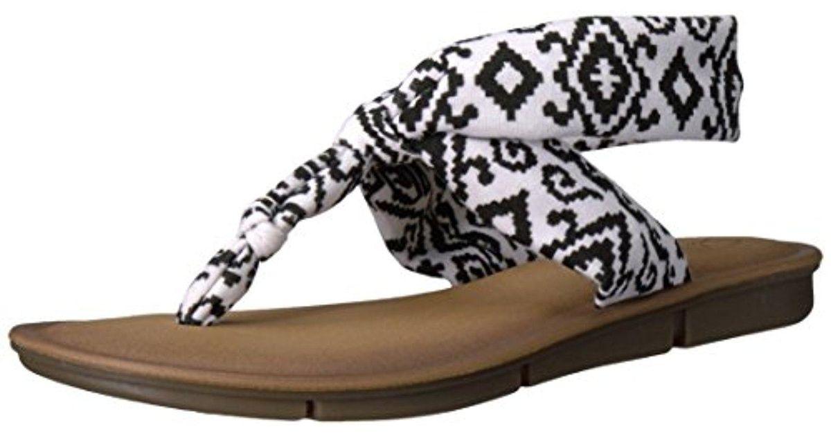 1bff5d0f11d931 Lyst - Skechers Indulge 2-urban Safari Flip Flop in Black