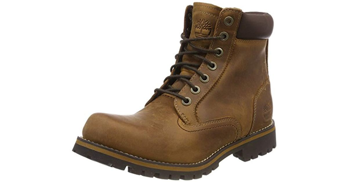 Timberland Brown Rugged 6 In Waterproof Boots for men