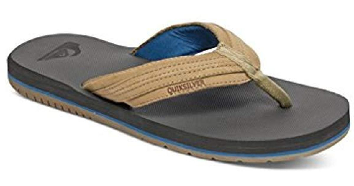 Sandalias Men Quiksilver Brown Coastal For Oasis Lyst vnO0wPymN8