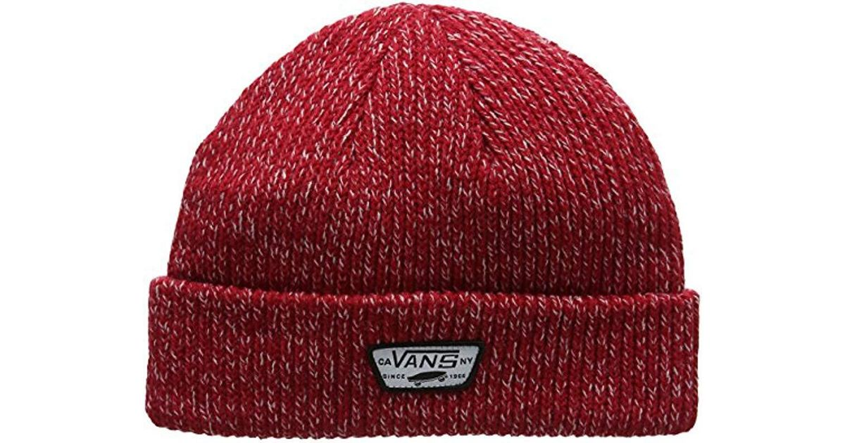 b9ed9dbd770 Vans Mini Full Patch Beanie in Red for Men - Lyst