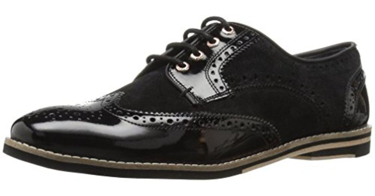 b7a2714b38ffcb Lyst - Ted Baker Anoihe Oxford in Black for Men