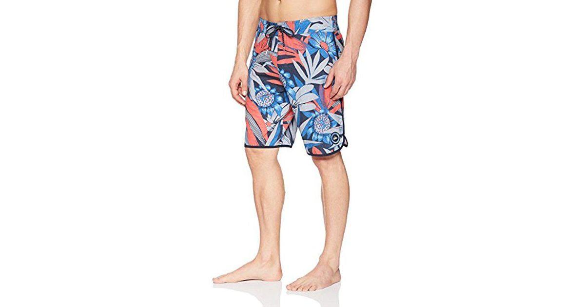 52c65152de Quiksilver Highline Country Scallop 20 Boardshort Swim Trunk in Blue for  Men - Lyst