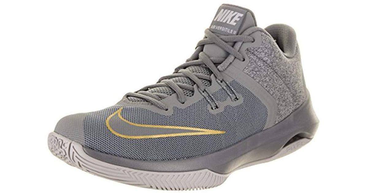 official photos 6a973 a9eae Lyst - Nike Air Versitile Ii Nbk Basketball Shoe in Gray for Men
