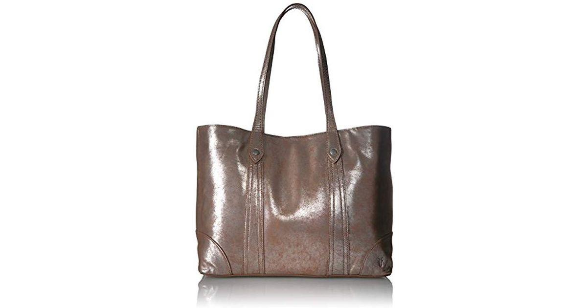 932c2091a0d5 Lyst - Frye Melissa Shopper Tote Leather Handbag