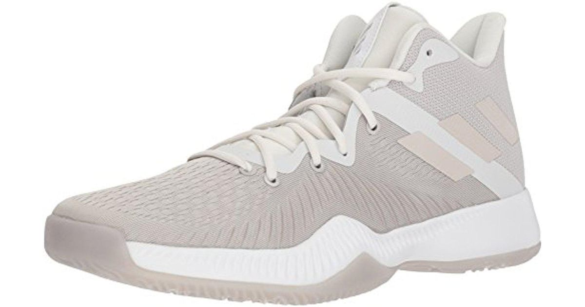 outlet store ee95e b2ca4 Lyst - adidas Originals Adidas Mad Bounce Basketball Shoe, Ftwr White,  Chalk Pearl S, Crystal White S, 7.5 M Us in White for Men
