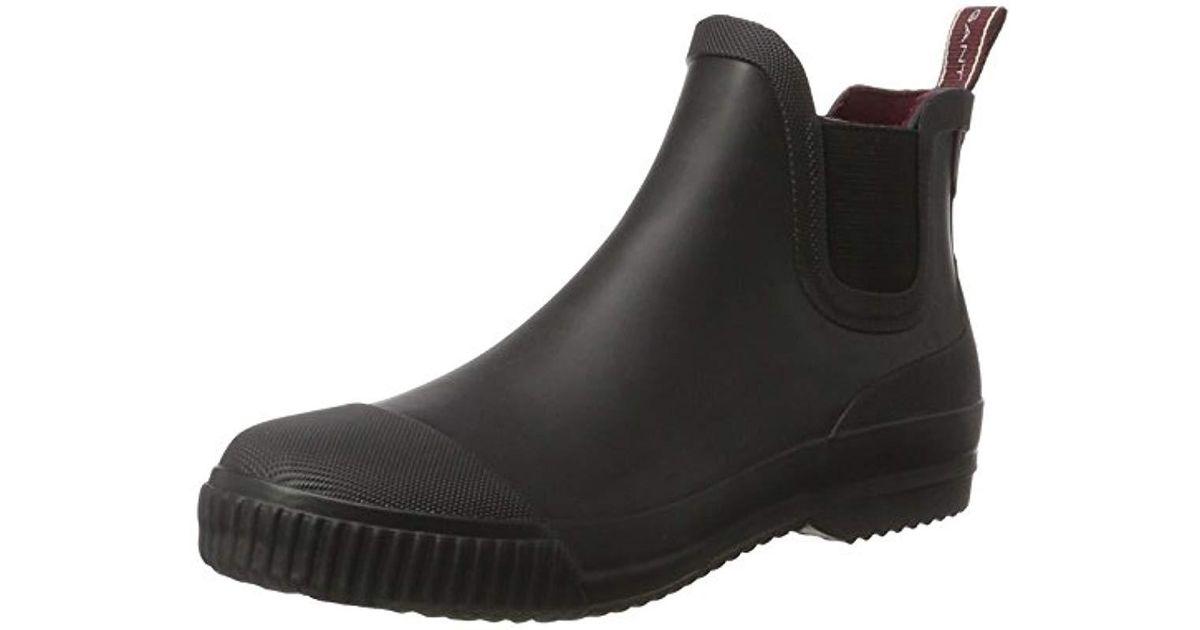 4b112cdf0e6 Gant Black Mandy Ankle Boots