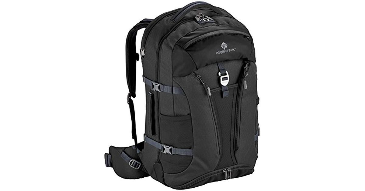 72c19f29335b Lyst - Eagle Creek Global Companion Backpack 65l in Black - Save  76.41921397379913%
