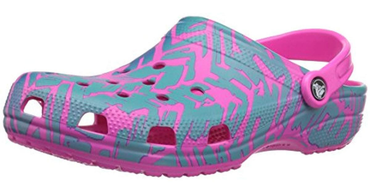 487133c3d7 Crocs™ Unisex Adults' Classic Graphic Ii Clog in Pink - Save 31% - Lyst