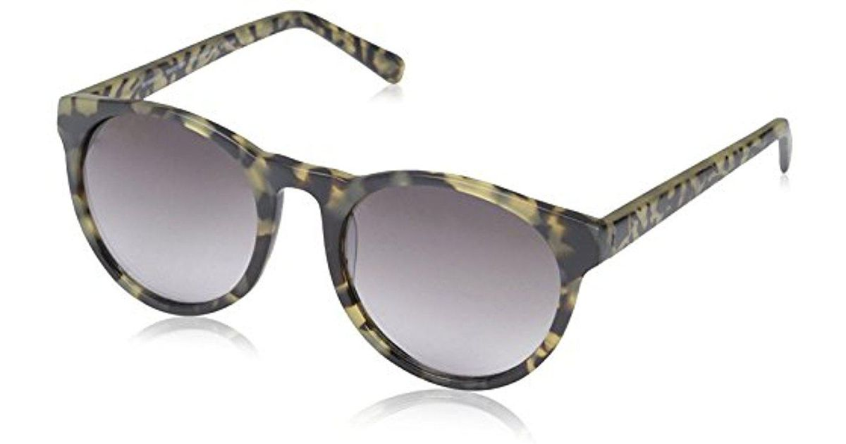 SOCIETY NEW YORK Women's 15H0098 Sunglasses, Oyster/Blue