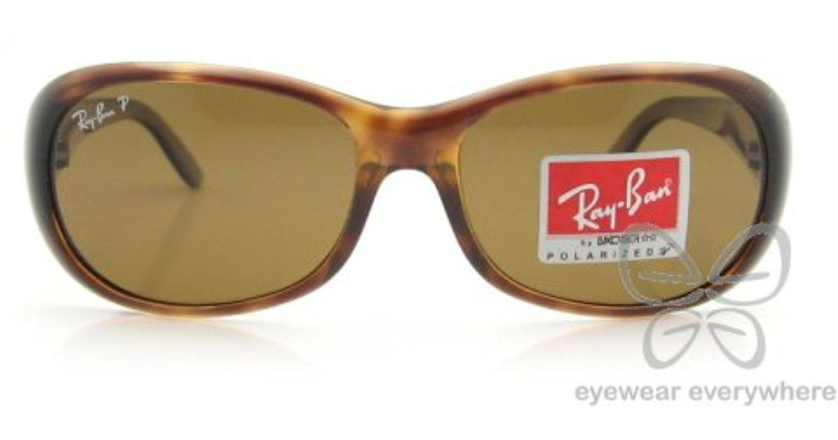 b2efdfaabfb Lyst - Ray-Ban Rb 4061 Sunglasses in Brown