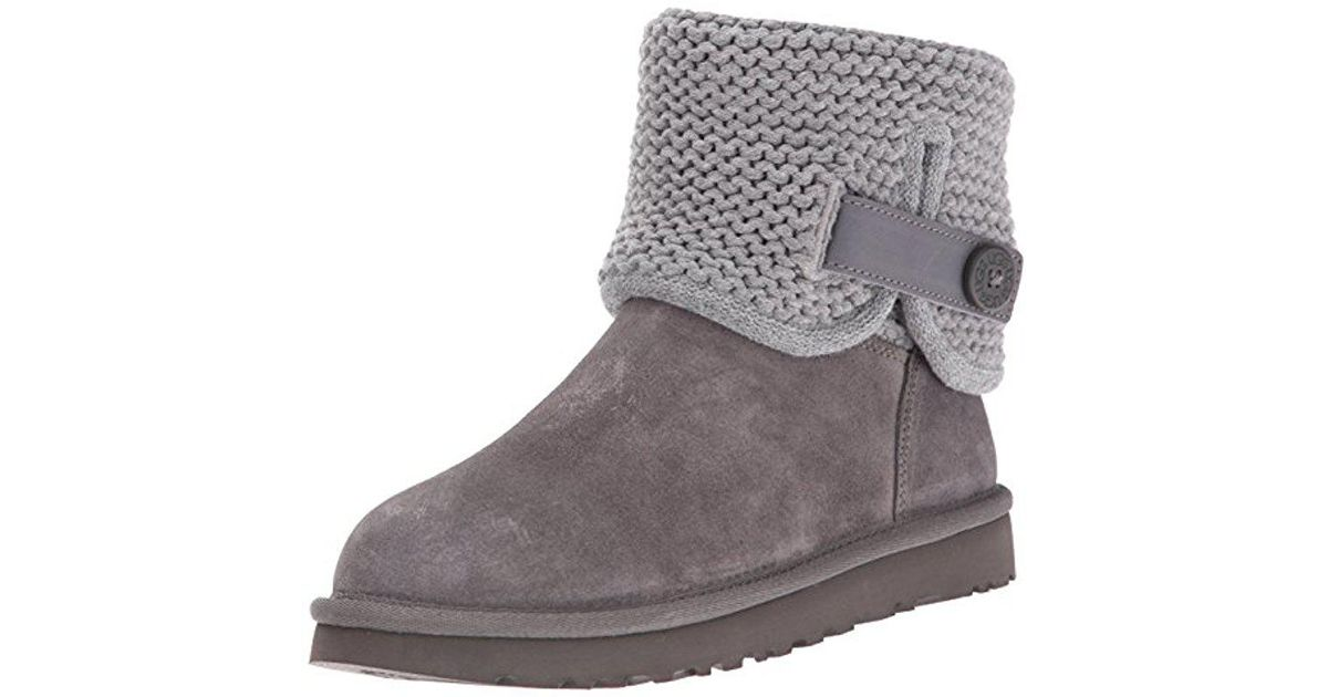 ffd955ffaed Ugg - Gray Shaina Boot - Lyst