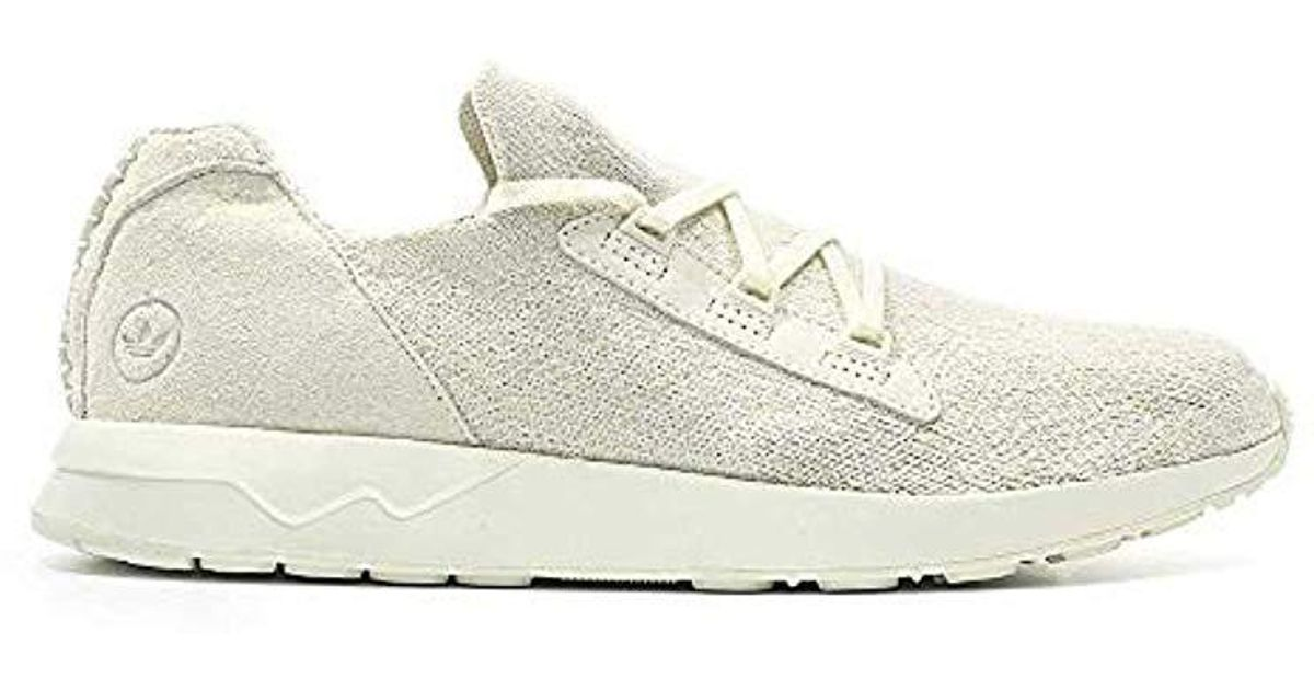 save off ad1a9 ea96c Adidas - White Wings + Horns Zx Flux for Men - Lyst