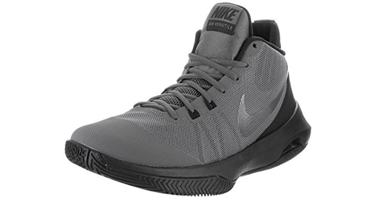 hot sale online 082e5 a75ab Lyst - Nike Air Versitile Nubuck Basketball Shoes in Gray for Men