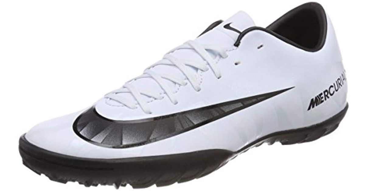 743d7b91f Nike  s Mercurialx Victory Vi Cr7 Tf Football Boots in White for Men - Lyst
