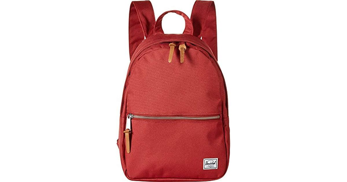 c98f7f67d87 Lyst - Herschel Supply Co. Town X-small Backpack in Red