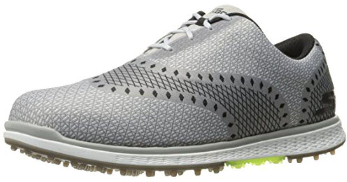 Lyst - Skechers Performance Go Golf Elite 2 Ace Golf Shoe in Gray for Men 56eda6e64