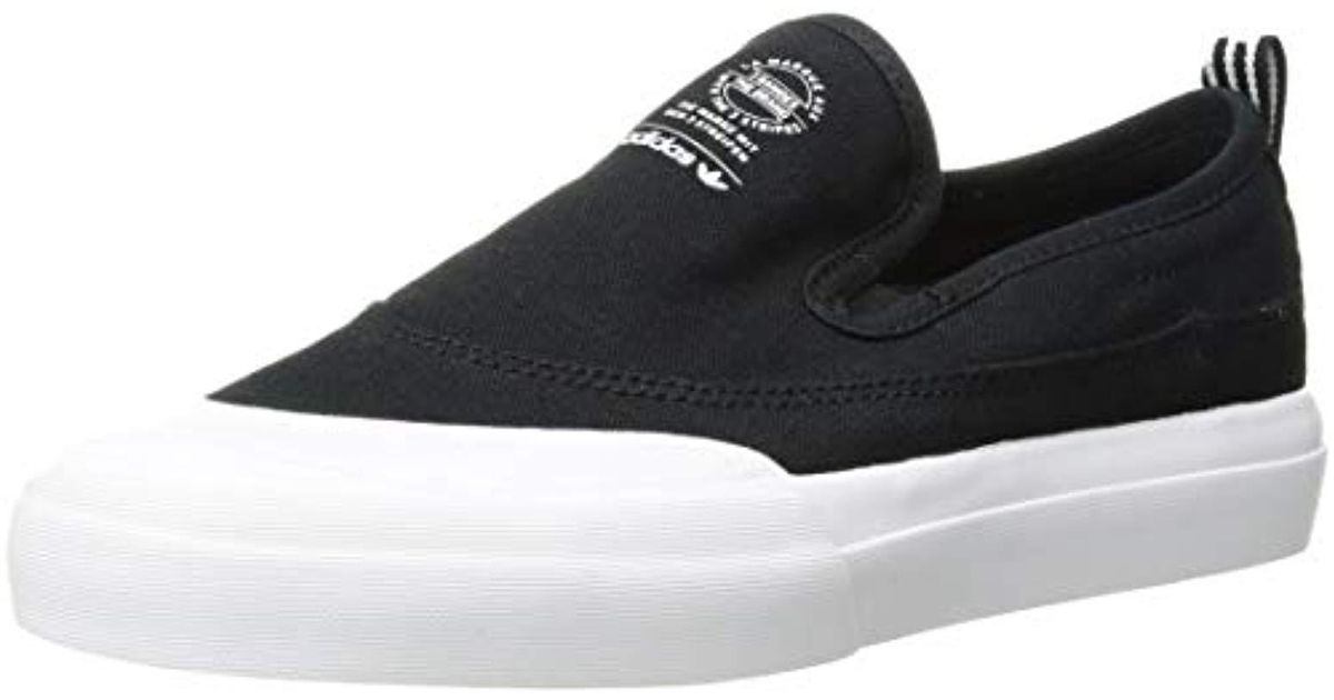 a93f2e85e251 Lyst - adidas Originals Matchcourt Slip Skate Shoe in Black