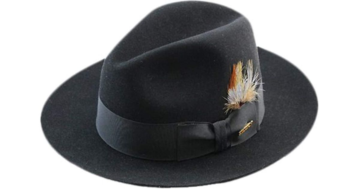 Lyst - Stetson Sttson Temple Royal Deluxe Fur Felt Hat in Black for Men -  Save 8% 5abd9ad8a5d