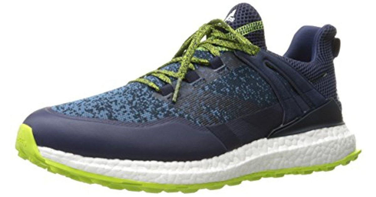fed0032abc74a Lyst - adidas Golf Crossknit Boost Golf-shoes in Blue for Men - Save 44%