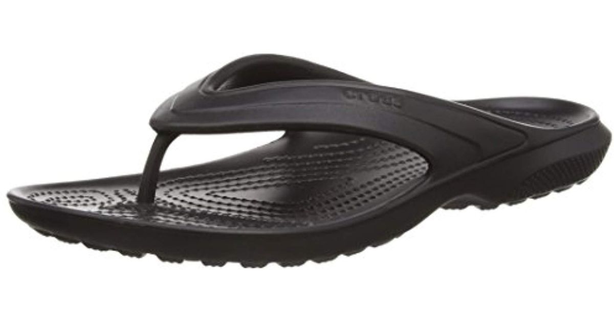Crocs™ Unisex Adult Classic Flip Flop in Black for Men - Lyst f2aa4280926