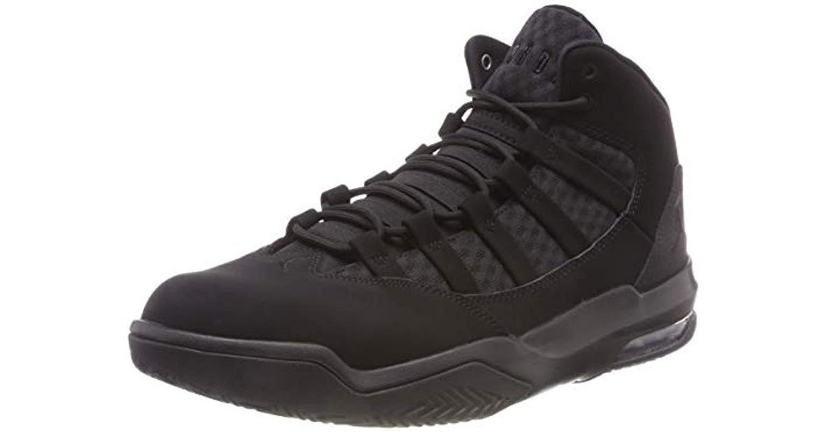 2f60bcf08f2290 Nike   s Jordan Max Aura Basketball Shoes in Black for Men - Lyst