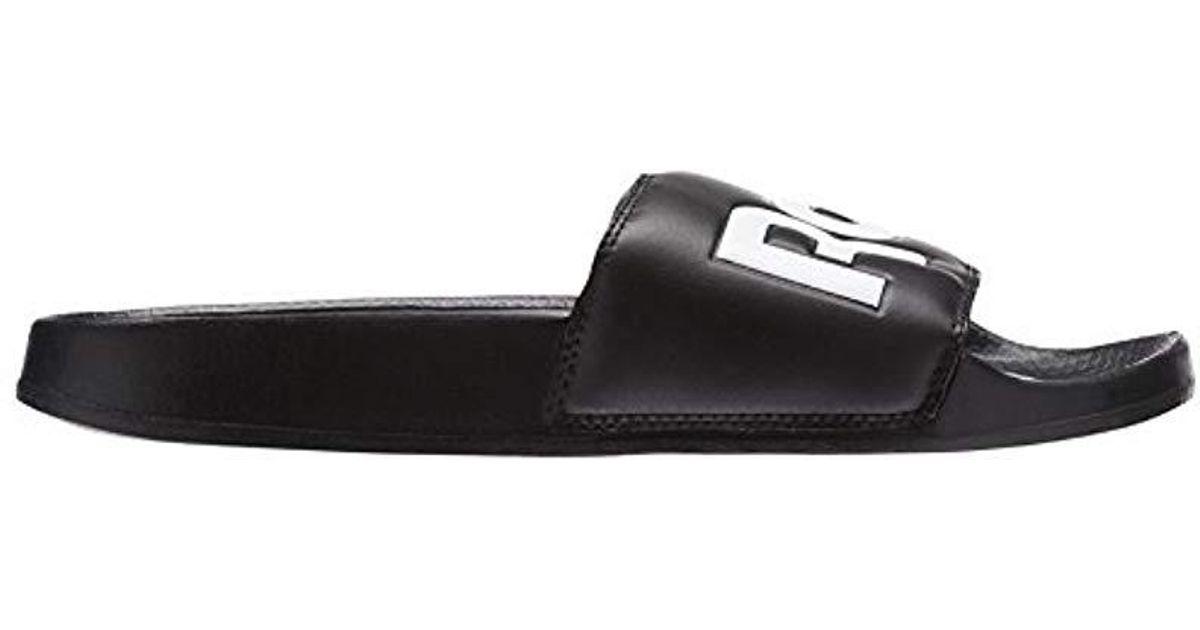 65995270e185 Reebok Adults  Classic Slide Beach   Pool Shoes in Black for Men - Lyst