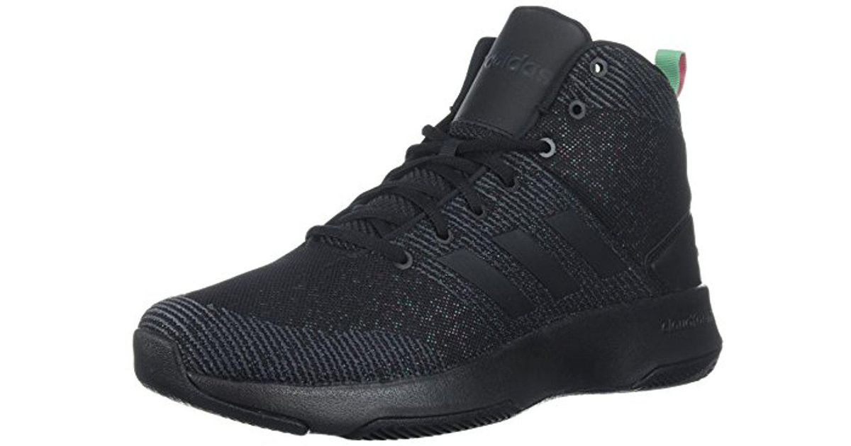 adidas Originals Mens CF Executor Mid Scarlet/Core Black/White 9 M US