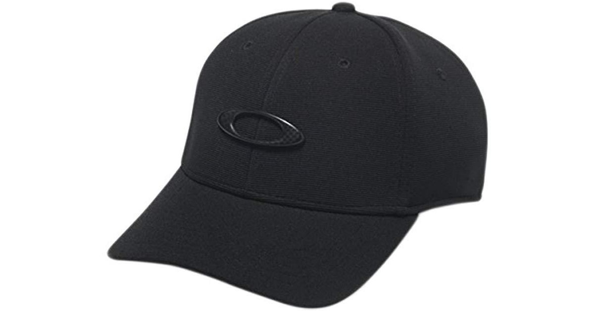 42fe4a53629 Lyst - Oakley S Metal Tincan Flexfit Hat in Black for Men - Save 7%