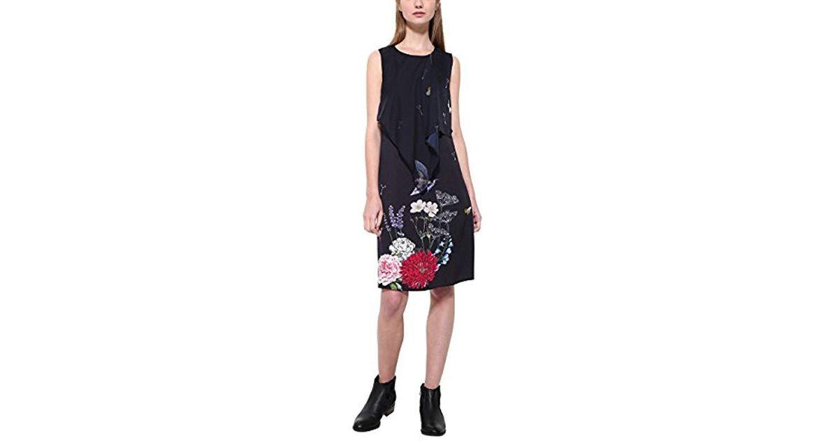Lyst Black Desigual Vest Dress evita byYg7f6