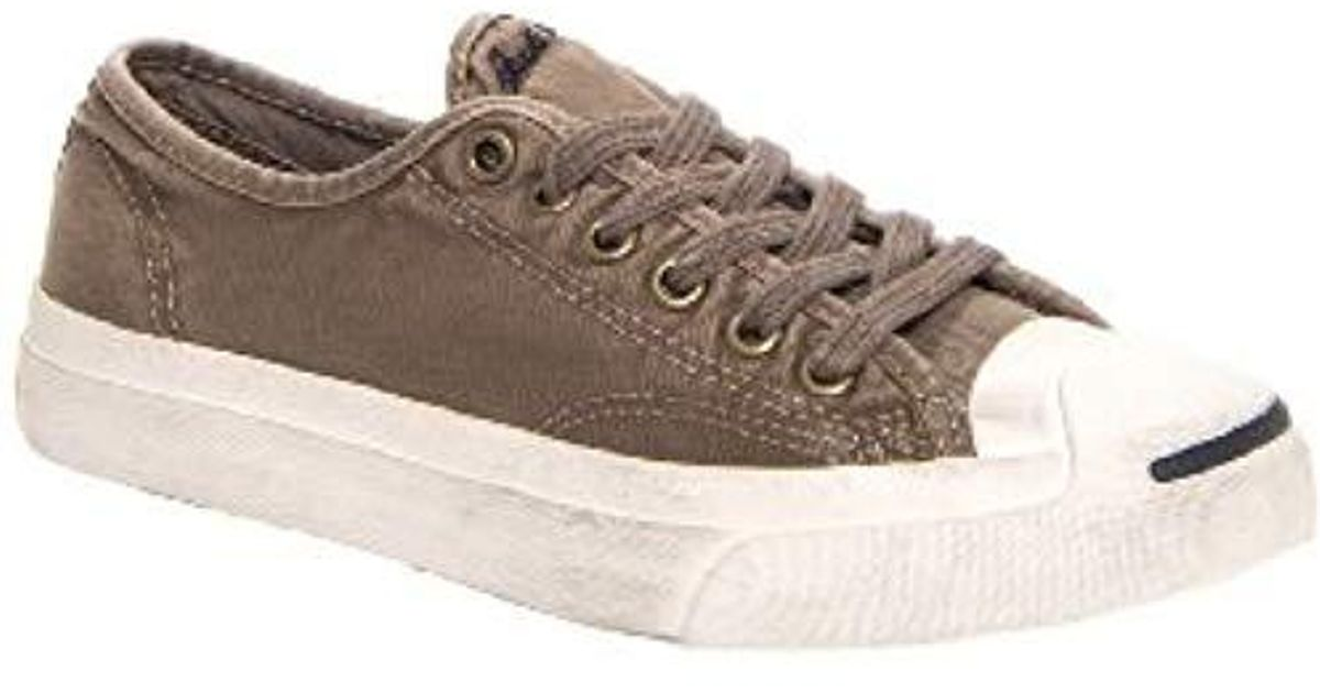 3eb4ca723d787 Converse - Brown Jack Purcell Ox Unisex Shoes In Morel/egret 140137c for  Men - Lyst