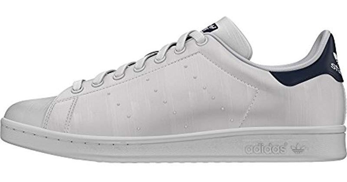 innovative design 2e470 b56ee Adidas - White Stan Smith Trainers for Men - Lyst