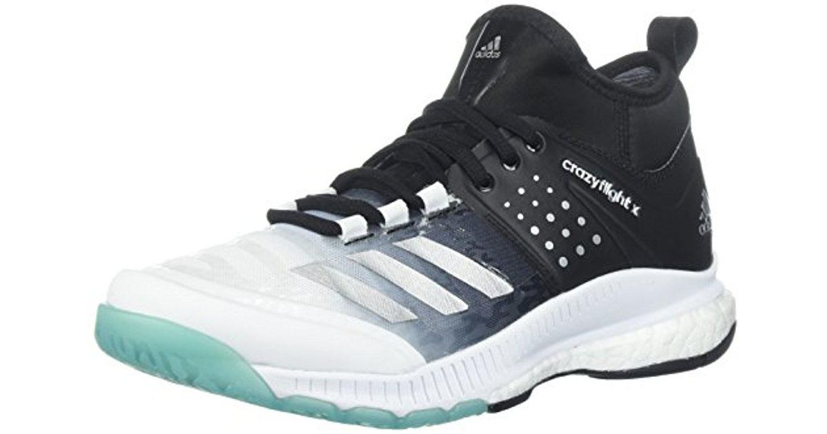 137cf1d05c6b Originals Shoes Adidas Volleyball Lyst In X Crazyflight Mid PpHnHq5T