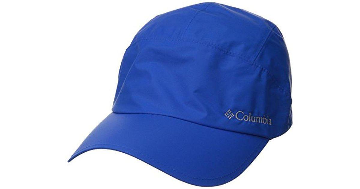 Lyst - Columbia Watertight Cap in Blue for Men ee09024f755