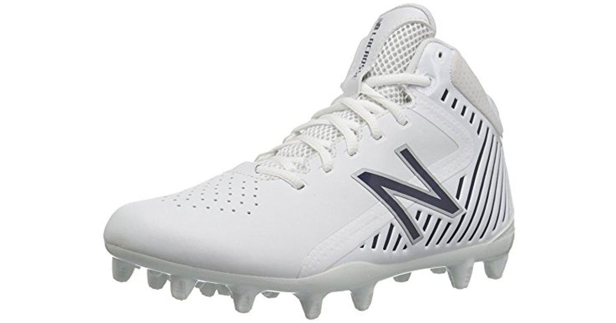 the latest c9136 93b3d Lyst - New Balance Rush V1 Lacrosse Speed Shoe in White for Men - Save 11%