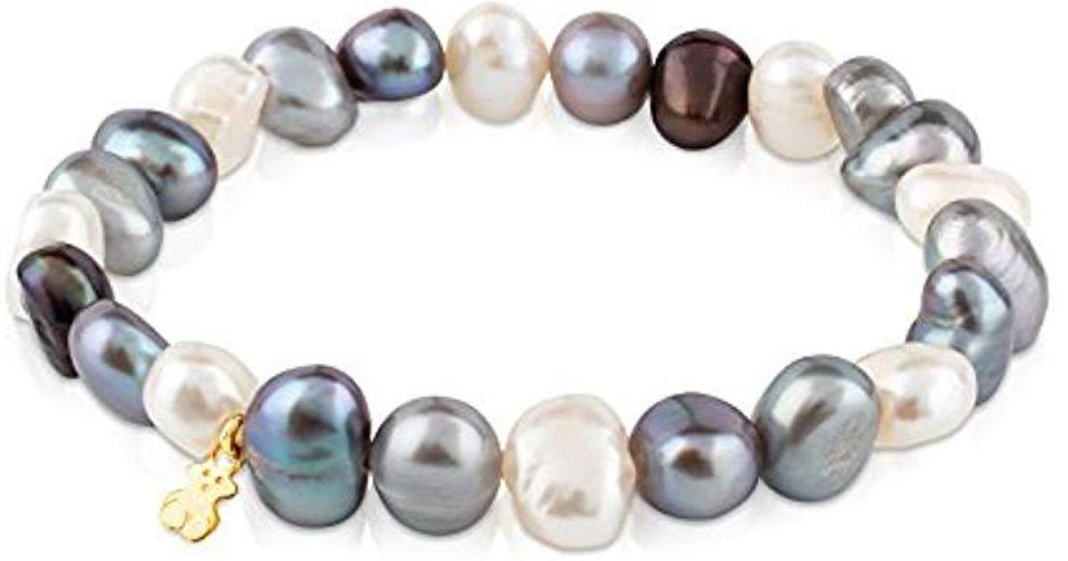 3e55ad4068f6 Lyst - Pulsera Sweet Dolls de perlas barrocas de 0